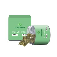 Kc Virtus 6% susz CBD weed cannabis MARIHUANA 3g