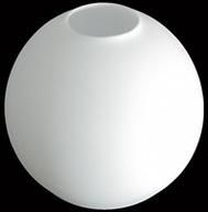 KLOSZ KULA 12 OPAL DO LAMP, SZKLANA, ZAMKNIĘTA