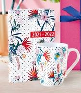 Yves Rocher zestaw kubek kalendarz na prezent