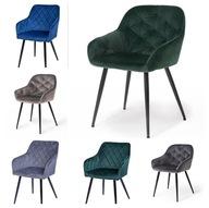 Fotel krzesło nowoczesne KERI velvet zieleń nowość