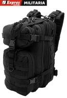 Plecak Camo Assault Czarny 25 litrów pojemności