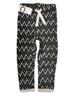 Spodnie dres BASIC wzorki CUBUS 110 / 116 czarne