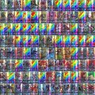 100 Sztuk Legendarnych kart Pokemon GX MEGA