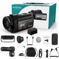 Zestaw cyfrowej kamery wideo Andoer HDV-214K WiFi