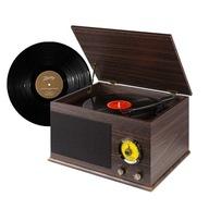 GRAMOFON FENTON VINTAGE USB BT FM RCA+ WINYL