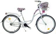 Rower 24 dla dziewczynki miejski DALLAS na komunie