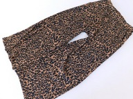 0607mn61 F&F spodnie w cętki 164 CM