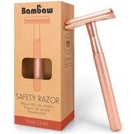 Bambaw, Rosegold maszynka do golenia na żyletki