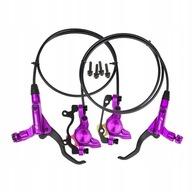 Rowerowy hydrauliczny hamulec tarczowy - Fioletowy