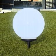 Zewnętrzna lampa solarna LED z bolcem, kula, 40 cm