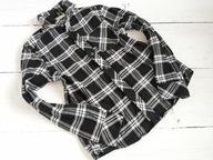 Koszula w kratę długi rękaw 10-11 L 146 cm
