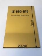 Laminat grawerski srebrny złoty szczotkowany CO2