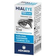 Hialeye FREE 0,4% nawilżające krople do oczu 10ml