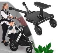Deski do wózków dziecięcych, kombinacja spacerówki