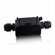 Puszka kablowa 3-pinowa hermetyczna V-TAC Czarna
