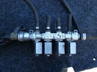instalacja gazowa Stako , sekwencja BRC , wtryski
