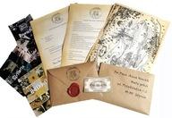 Twój List z Hogwartu Harry Potter - pieczęć, bilet