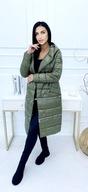 Kurtka damska 3w1 khaki jesienno-zimowa L