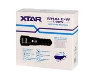 Latarka nurkowa XTAR D26W WHALE Full Set 26650 LED