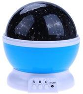 LAMPKA NOCNA 2w1 PROJEKTOR GWIAZD LED RGB 9x tryb