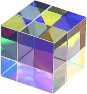 PRYZMAT RGB X CUBE 15mm. FOTOGRAFIA, FIZYKA, LASER