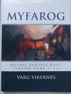 Varg Vikernes MYFAROG podręcznik RPG BURZUM