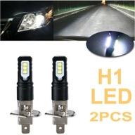 Żarówki LED H1 BIAŁA 6000K 2szt. Światła LED