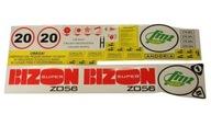 Naklejki kombajnu zbożowego Bizon Z056