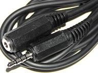 Przedłużacz mini JACK 4polowy 5m (190-5,0)