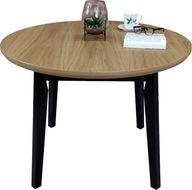 Stół rozkładany okrągły 100/130 loft skandynawski
