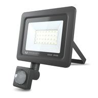 Naświetlacz LED 30W, neutralny z czujnikiem ruchu
