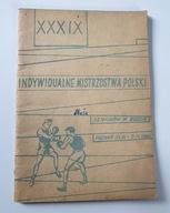 PROGRAM XXIX MISTRZOSTWA POLSKI W BOKSIE POZNAŃ 68