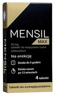 Mensil Max 50 mg, 4 tabletki do żucia