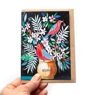 Kartka z Podziękowaniami + Eko koperta