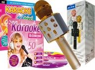 Solidny MIKROFON BEZPRZEWODOWY, Karaoke dla dzieci