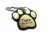 IDENTYFIKATOR ADRESÓWKA dla psa lub kota grawer