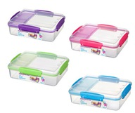 Sistema lunchbox snack attack duo 975ml 4 kolory