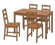 Ikea Stół i cztery krzesła Jokkmokk