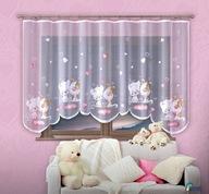 Firanka dla dziecka pokój dziecięcy 300x150 Gotowa