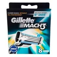 Gillette Mach 3 ostrza 8szt nożyki maszynki wkłady