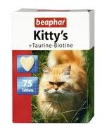 Kitty's tauryna biotyna witaminy dla kota 75 szt