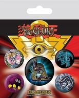 YU-GI-OH! przypinki zestaw 1 + 4