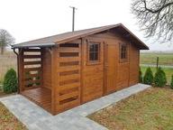 Domek narzędziowy ogrodowy drewniany szopa