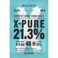 X-PURE 48 TURBO PURE drożdże gorzelnicze 21,3% 9kg