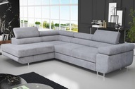 Duży Narożnik ALI Rogówka, Sofa, Funkcja spania