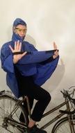 kurtka rowerowa przeciwdeszczowa -peleryna B.MOCNA