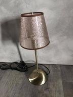 Lampa stołowa Spot-Light Tora brązowa