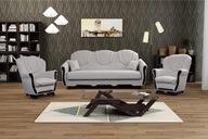 OSKAR zestaw wypoczynkowy wersalka fotele kanapa