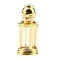 Puste butelki perfum Złoty