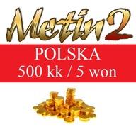 METIN2 POLSKA YANG WON 500kk YANG YANGI 5 WON
